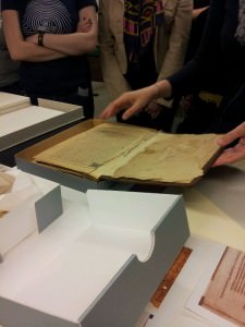 Conservation Lab & Bindery Tour at Brown University
