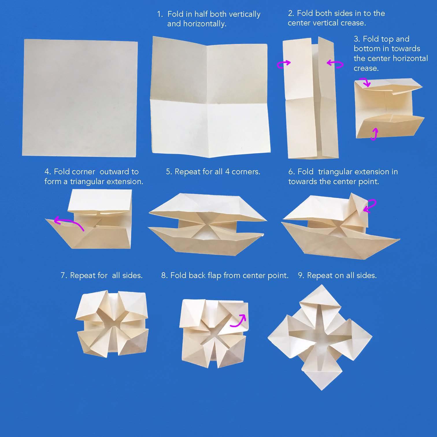 Paper Snowflake | Kids' Crafts | Fun Craft Ideas | FirstPalette.com | 1512x1512